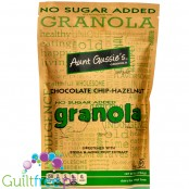 Aunt Gussie's No Sugar Added Granola, Chocolate Chip-Hazelnut 8 oz