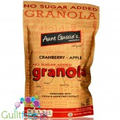 Aunt Gussie's No Sugar Added Granola, Cranberry-Apple 8 oz