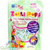 Zollipops ® Tropical Variety sugar free lollies 25pcs