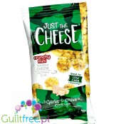 Specialty Cheese Just The Cheese Chips Minis, Garlic & Chive, 1/2 oz bags
