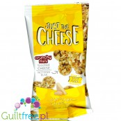 Just The Cheese White Cheddar Chips - keto chrupaki serowe