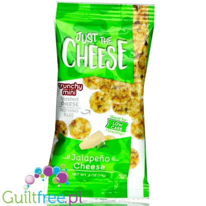 Specialty Cheese Just The Cheese Chips Minis, Jalapeno, 1/2 oz bags
