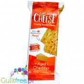 Specialty Cheese Just The Cheese Crunchy Baked Cheese Bars, Aged Cheddar - keto batony serowe