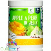 AllNutrition Apple & Pear in sugar free Jelly