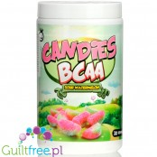 Yummy Sports Candies Sour Watermelon, wegańskie BCAA 2:1:1 ze stewią