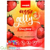 Prozis Veggie Gelly Agar-Agar Strawberry - Sugar Free Vegan Jelly Dessert