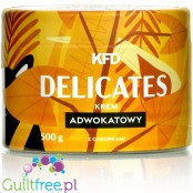 KFD Delicates Advocate - eggnog flavored sugar free spread with rice crunchies