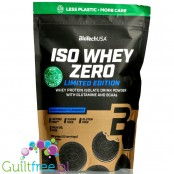 BioTech USA Iso Whey Zero Black Biscuit 0,5kg, lactose free, summer 2020 limited edition