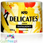 KFD Delicates Raffie White Chocolate & Coconut sugar free spread with rice crunchies