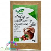 Bio Planet Chocolate & Cranberries sugar free pudding without sweeteners