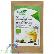 Bio Planet Vanilla Bourbon sugar free pudding without sweeteners