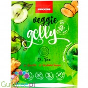 Prozis Veggie Gelly Agar-Agar D-Tox Apple-Ginger - Sugar Free Vegan Jelly Dessert