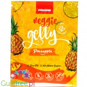 Prozis Veggie Gelly Agar-Agar Pineapple - Sugar Free Vegan Jelly Dessert