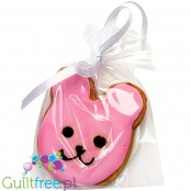 Santini Easter - hand decorated sugar free cookie with xylitol, Bunny