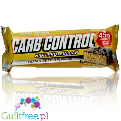 Body Attack Carb Cotrol Peanut Butter Flavor
