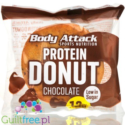 Body Attack protein donut chocolate