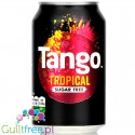 Tango Sugar Free Tropical 330ml - napój zero kcal bez cukru