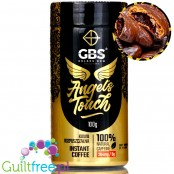 GBS Angel's Touch instant flavored coffee with caffeine boost, Caramel