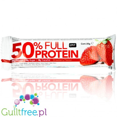 QNT 50% Protein Bar Exotic Strawberry