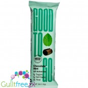 Good to Go Snacks, Keto Snack Bar, Chocolate Mint