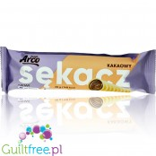 Arco Cocoa Sekacz (Branchy Spit Cake) with cocoa filling, sugar free