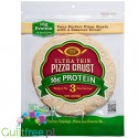 Golden Home Ultra Thin Crust Pizza 18g Protein - thin base ready to prepare pizza