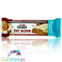 SlimFast Keto Meal Bar, Frosted Cinnamon Bun with stevia and MCT