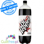 Dr. Pepper Zero - carbonated low-calorie refreshing drink with sweeteners