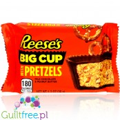 Reese's Big Cup Stuffed with Pretzels (CHEAT MEAL)