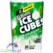 Ice Breakers Mints Spearmint sugar free chewing gum Thin Pack