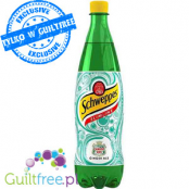 Schweppes Slimline Ginger Ale - carbonated low-calorie citrus drink with natural ginger extract