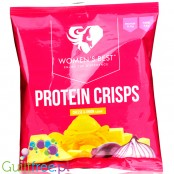 Women's Best Protein Crisps (50x25g) Cheese & Onion