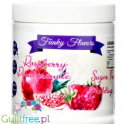 Funky Flavors Pudding Raspberry & Pomegranate - sugar free instant pudding 0,35KG