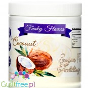 Funky Flavors Pudding Coconut - sugar free instant pudding 0,35KG