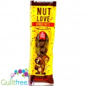 NutLove WholeNuts - almond covered with no added sugar milk chocolate, SlimPack