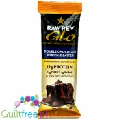 Raw Revolution Glo Bars, Double Chocolate Brownie Batter