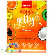 Prozis Veggie Agar Gelly Tropical Sugar Free Vegan Jelly Dessert