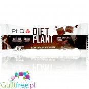 PhD Diet Plant Bar Dark Chocolate Fudge