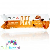 PhD Diet Plant Bar Milk Chocolate Salted Caramel