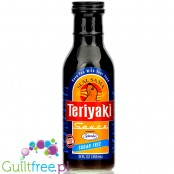 Seal Sama Sugar Free Teriyaki Sauce 12 fl oz - low carb, sugar free, 70% less cal