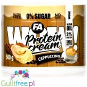 Wellness Line WOW! Protein Cream 500 g Cappuccino