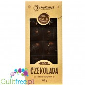 Krukam Handcrafted Dark Chocolate & Coconut Paste - sugar free dark chocolate without lecithin with coconut paste
