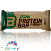 Biotech Vegan Bar Chocolate - gluten free, sugar free plant protein bar with no palm oil