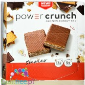 Power Crunch S'mores Protein Waffer BOX x 12 -