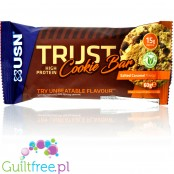 USN Trust Protein Cookie Bar Salted Caramel 15g protein no sweeteners
