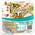 Sinnack Protein-Wraps - tortille 117 kcal, 8szt x 20cm