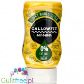 Callowfit Sauce Curry Mango 300ml - fat free, low carb, no aded sugar sauce