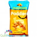 Paddies Cheesetastic gluten free protein crispy snack with cheese dip filling