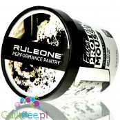 RuleOne R1 Easy Protein Mousse Cookies & Creame, high protein dessert mix, 20g protein