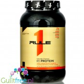 Rule1 R1 Protein Naturally Flavored, Chocolate Fudge, 25g protein in just 100kcal